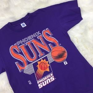 90s Purple Phoenix Suns Single Stitch Tee